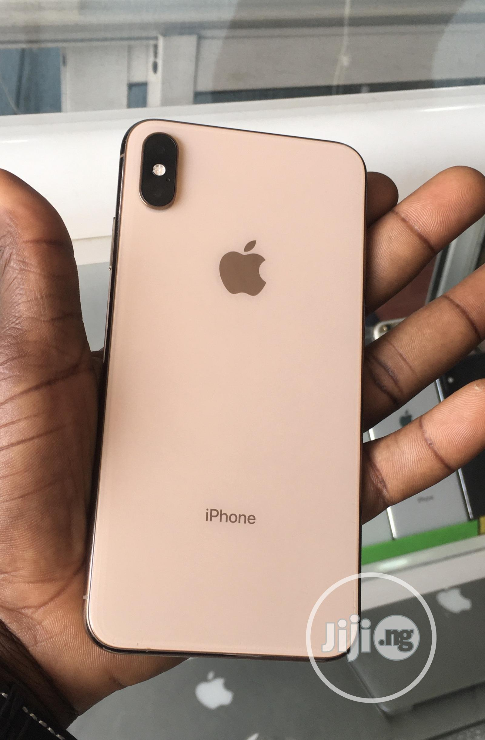 Apple iPhone XS Max 256 GB Gold   Mobile Phones for sale in Ikeja, Lagos State, Nigeria