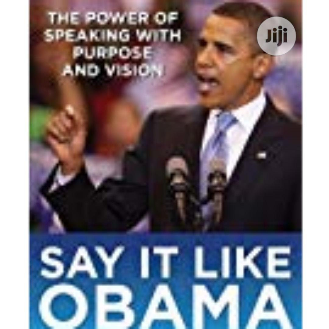Say It Like Obama