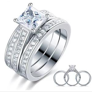 Asher Love Sterling Silver Wedding Ring Set   Wedding Wear & Accessories for sale in Delta State, Warri
