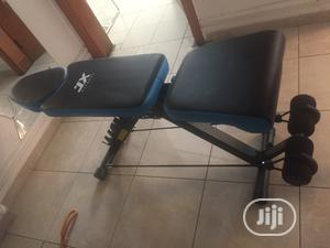 JX Fitness Adjustable Sit Up Bench Imported. Nationwide Delivery | Sports Equipment for sale in Rivers State, Port-Harcourt