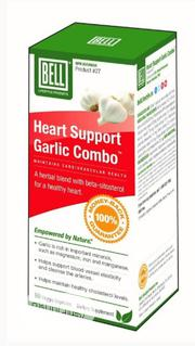 Heart Support Garlic Combo - For Maintaining Cardiovascular Health. | Vitamins & Supplements for sale in Lagos State, Ikeja