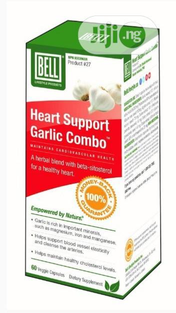 Heart Support Garlic Combo -Maintains Cardiovascular Health.