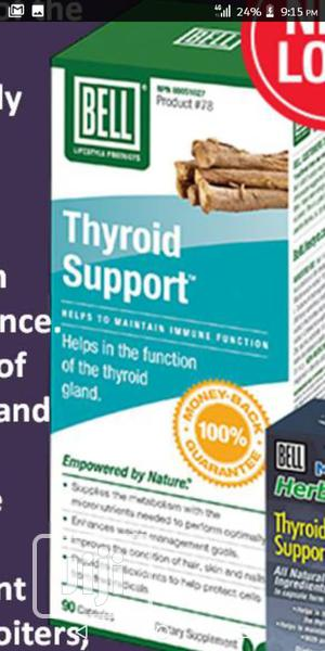 Thyroid Support (With Power of Nature) | Vitamins & Supplements for sale in Lagos State, Ikeja