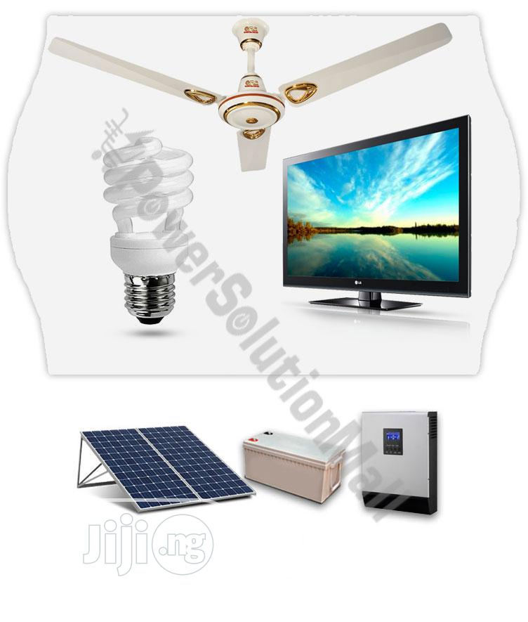 1.5KVA/12V Inverter With 2 Solar Panel + 1 X 200AH Battery