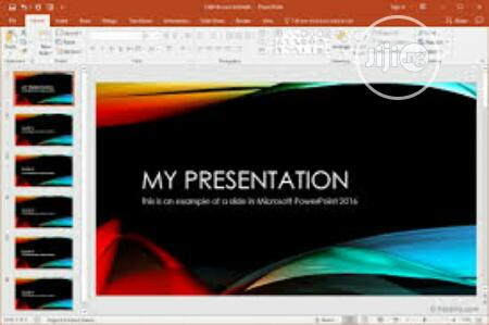 Archive: Professional MS Powerpoint Presentation Design