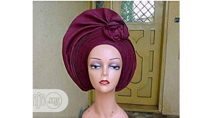 Stylish Autogele With Rose | Clothing for sale in Ikeja, Lagos State, Nigeria