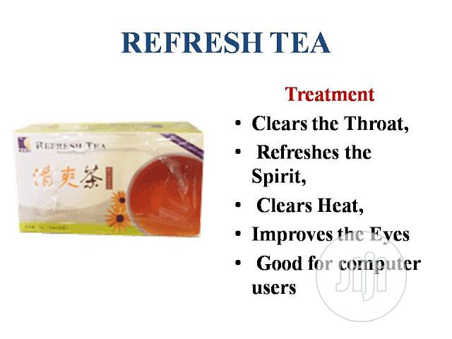 Kedi Refresh Tea for Eyes and Throat