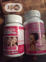 Collagen Glutathione + Gluta White For Skin Whitening | Vitamins & Supplements for sale in Lagos State, Ikeja