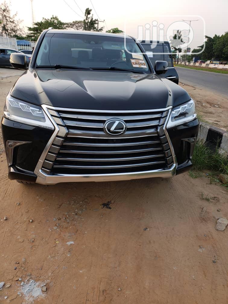 Lexus LX 570 2017 Black   Cars for sale in Ikeja, Lagos State, Nigeria