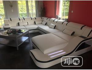 U Shape Sofa With LED Lights   Furniture for sale in Lagos State, Gbagada