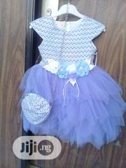 Turkey Dress With Flower Design Handbag   Children's Clothing for sale in Abuja (FCT) State, Wuse