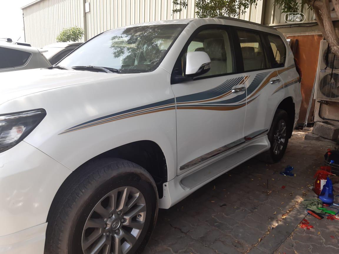 New Toyota Land Cruiser Prado 2019 VXR White   Cars for sale in Ikeja, Lagos State, Nigeria