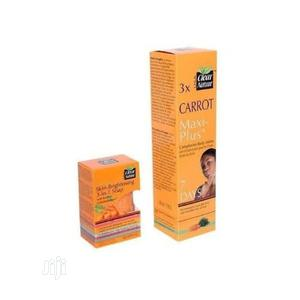 Clear Nature Carrot Maxi Plus Complexion Lotion +3-in1 Soap   Bath & Body for sale in Lagos State, Amuwo-Odofin