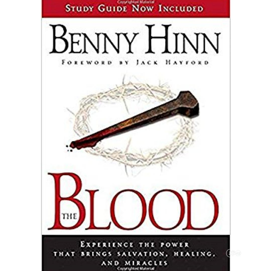 Blood By Benny Hinn.Free Delivery