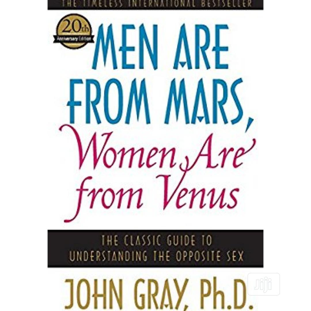 Archive: Men Are From Mars Woman Are From Venus
