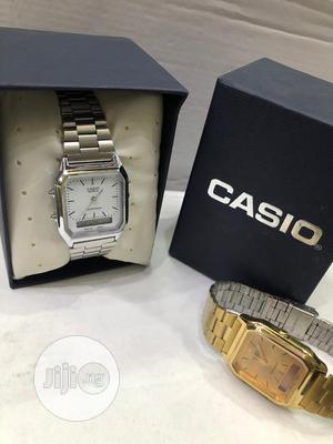 Casio Silver Digital Chain Watch | Watches for sale in Lagos State, Lagos Island (Eko)