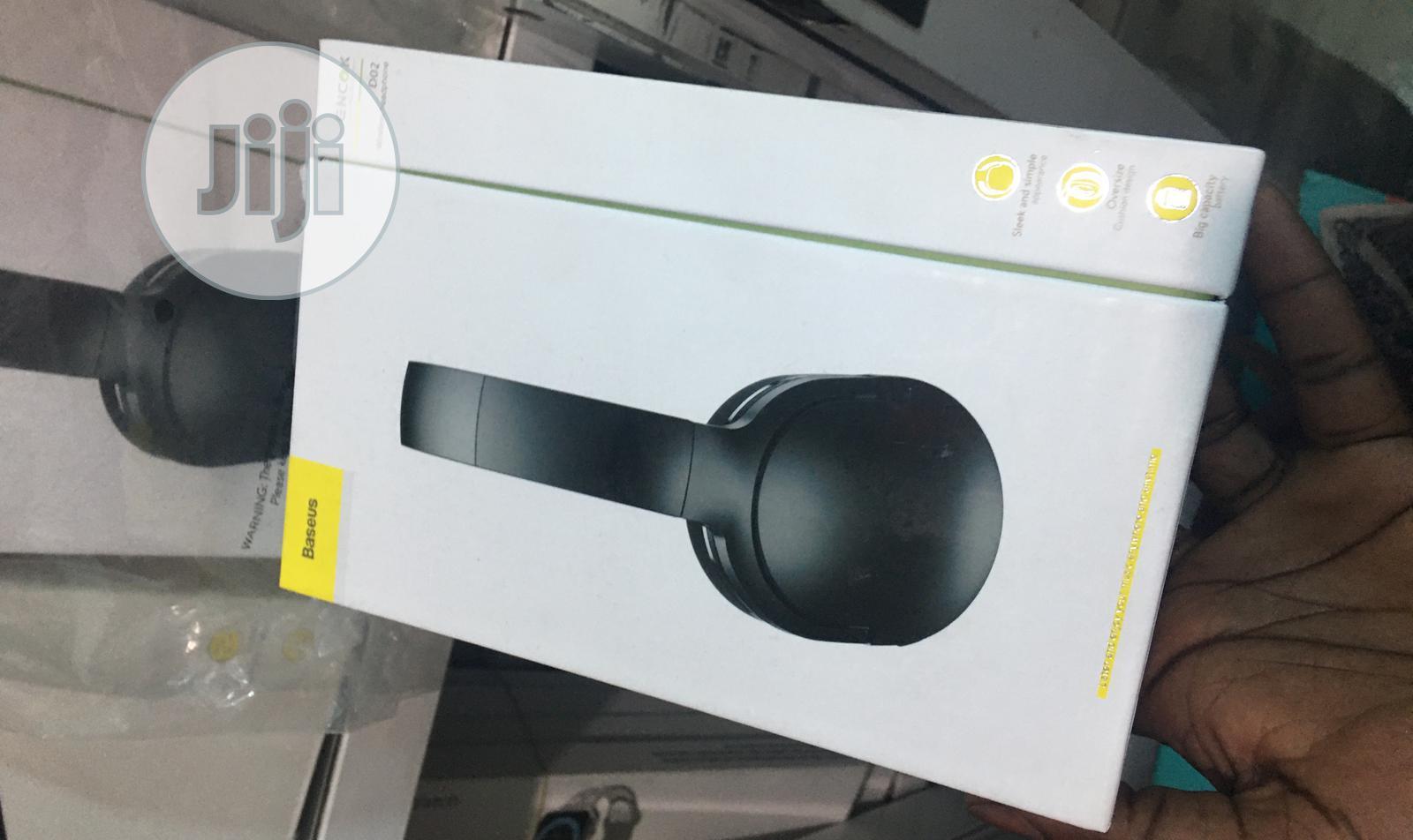 Baseus D02 Wireless Headset | Headphones for sale in Ikeja, Lagos State, Nigeria