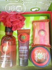 The Body Shop Strawberry Collection | Bath & Body for sale in Lagos State, Ikoyi