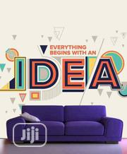 """""""Idea"""" Concept Photo Mural Wall Paper   Home Accessories for sale in Lagos State, Ikeja"""