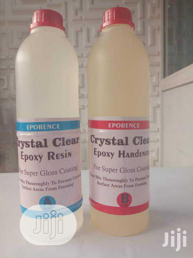 Clear Epoxy Resin And Clear Epoxy Hardener   Building Materials for sale in Ikeja, Lagos State, Nigeria