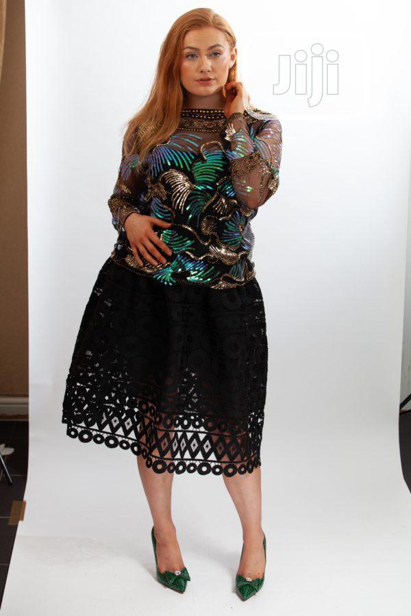 Zoe Sequine Luxury Top