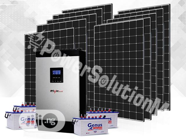 5KVA Premium SOLAR Installation (With Pay Later Option)