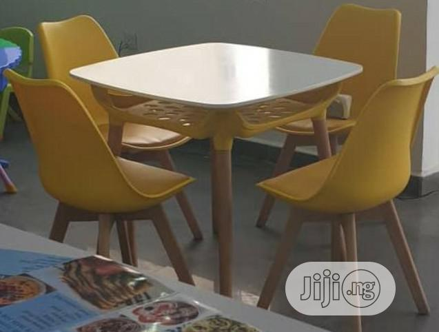 Quality Restaurant/Dinning Table With 4 Chairs