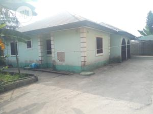 For Sale 4bedroom Bungalow On 1plot Of Land In New Rd Off Ada George | Houses & Apartments For Sale for sale in Rivers State, Port-Harcourt