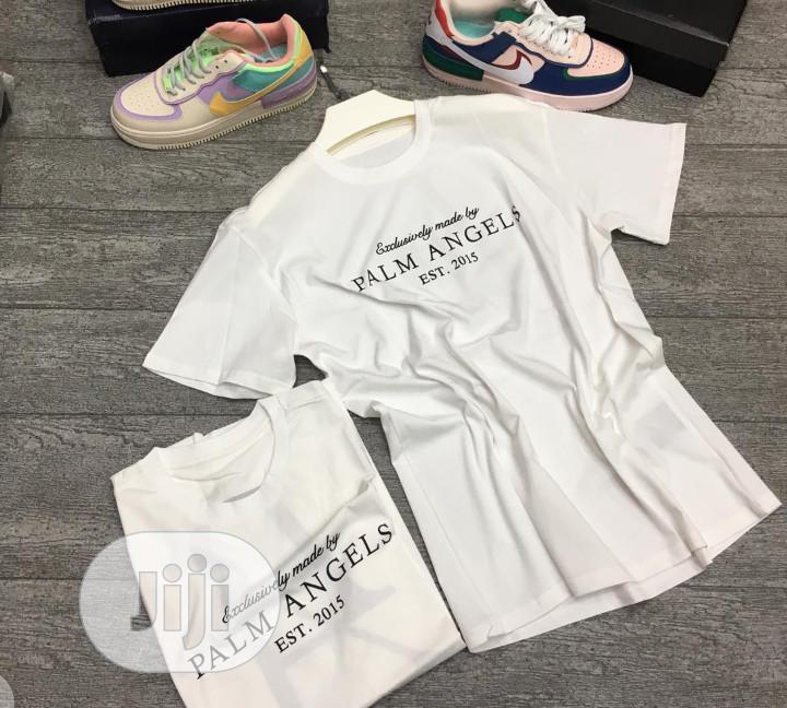 Authentic Palm Angel T-Shirts (Black White)