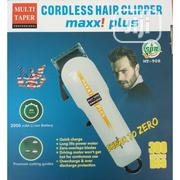 Multi Taper Maxx! Plus Rechargeable LED Professional Hair Clipper | Tools & Accessories for sale in Lagos State, Lagos Island