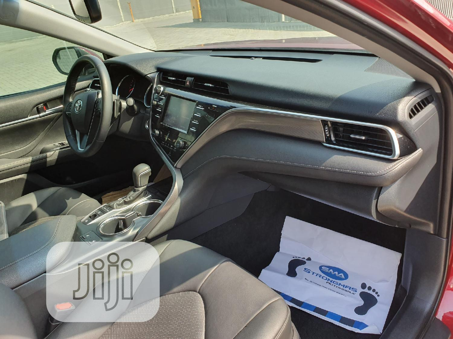 Toyota Camry 2018 XSE FWD (2.5L 4cyl 8AM) Red | Cars for sale in Lekki, Lagos State, Nigeria