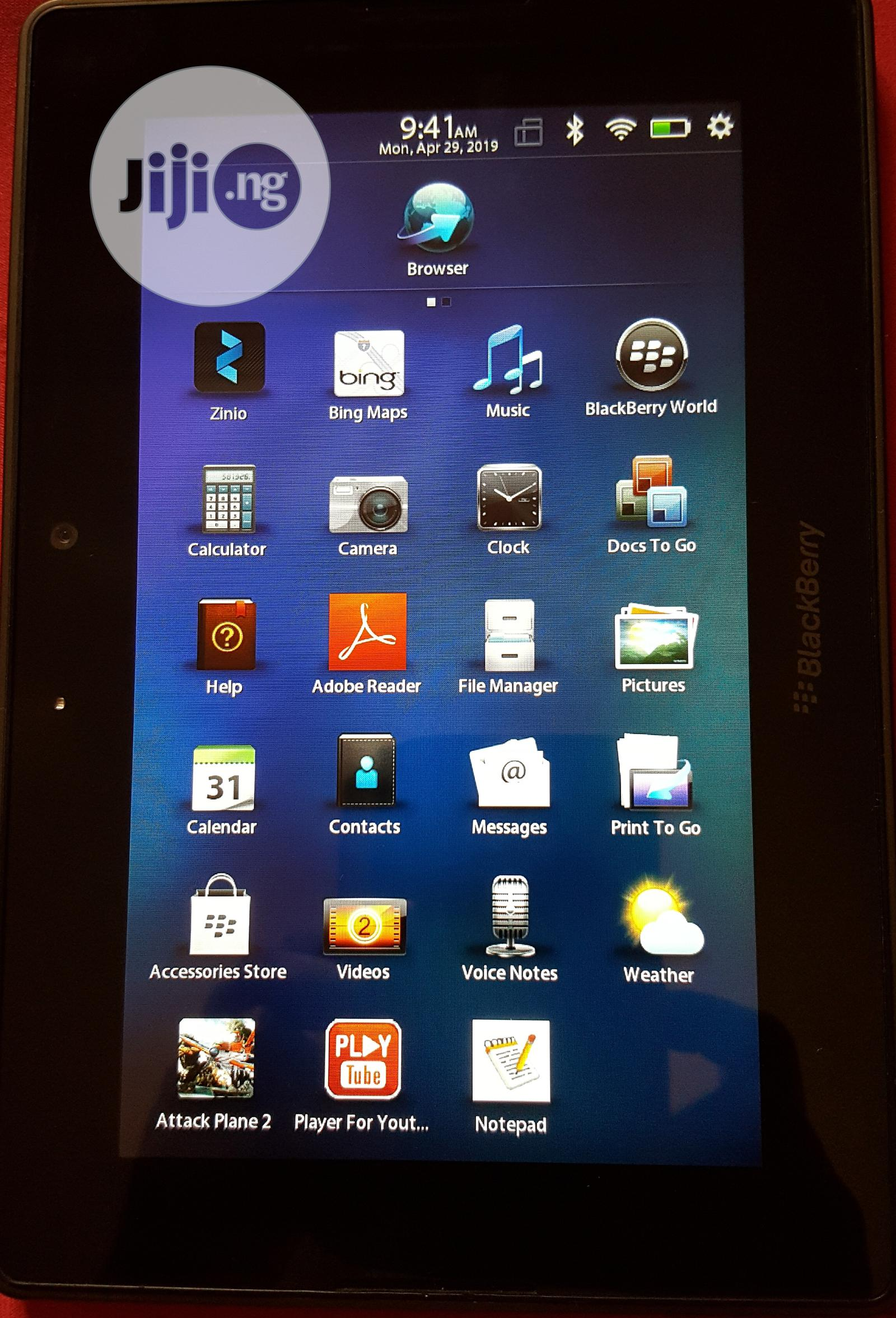 Blackberry Playbook 64 GB Black | Tablets for sale in Maitama, Abuja (FCT) State, Nigeria