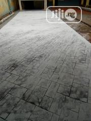 Concrete Stamp Floor And For Good Service | Landscaping & Gardening Services for sale in Lagos State, Lekki Phase 1