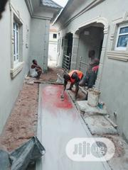 Concrete Stamp Floor | Landscaping & Gardening Services for sale in Lagos State, Lekki Phase 1