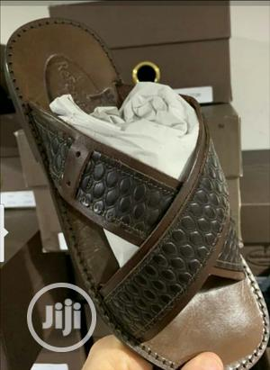 Original Italian Leather Sandals Slippers | Shoes for sale in Lagos State, Surulere