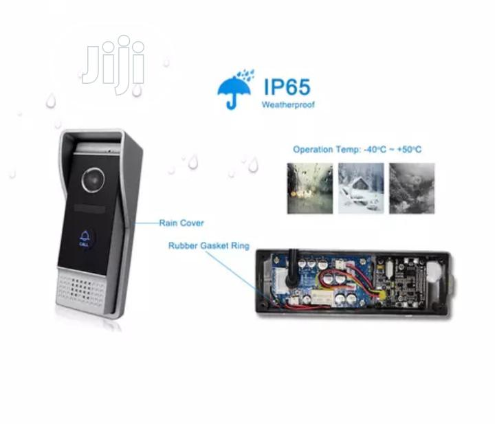 Camera Door Bell With Waterproof Button 4 Wire Video Door Phone | Home Appliances for sale in Ikeja, Lagos State, Nigeria