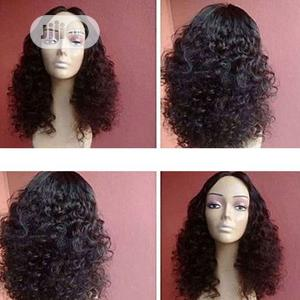 Bouncy Wave Closure Human Hair Wig   Hair Beauty for sale in Lagos State, Ikoyi
