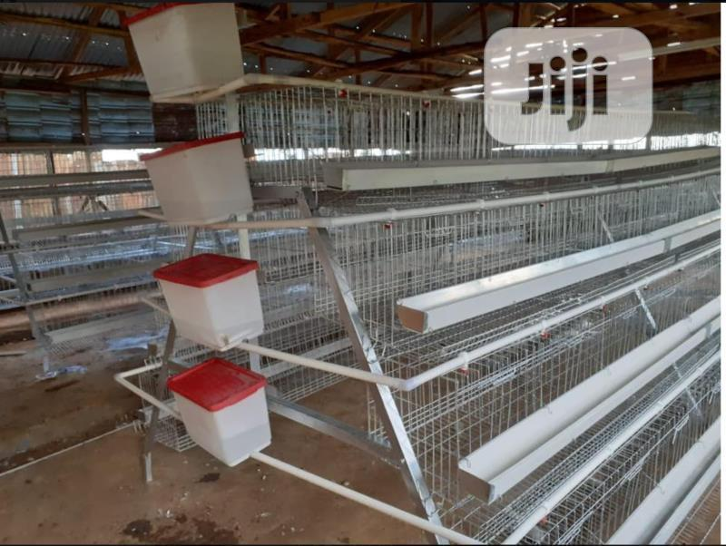 China Factory Best Quality Battery Cages Poultry Cages   Farm Machinery & Equipment for sale in Abaji, Abuja (FCT) State, Nigeria