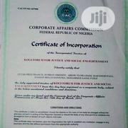 Company Registeration   Legal Services for sale in Lagos State, Ikeja