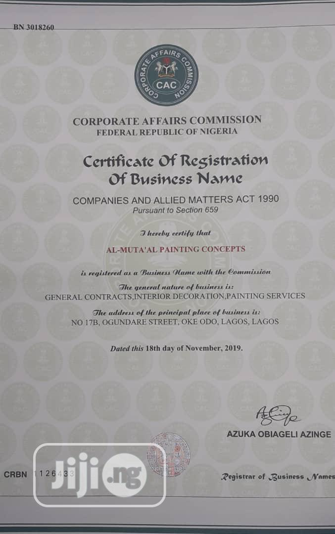 Archive: Company Registration
