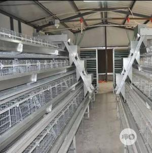 China Factory 4 Tires 160 Bird Imported Poultry Cages Battery Cages | Farm Machinery & Equipment for sale in Lagos State, Lagos Island (Eko)