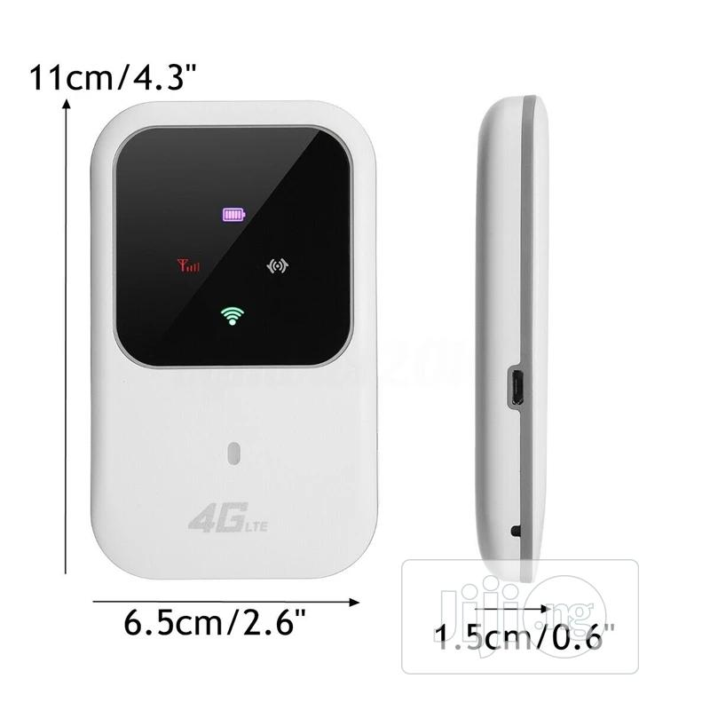 Portable 4G LTE WIFI Router Mobile Broadband Hotspot Modem   Networking Products for sale in Ikeja, Lagos State, Nigeria