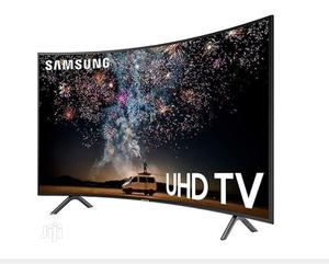 Samsung 55inch 4K Curved Ultra Slim Smart Tv | TV & DVD Equipment for sale in Abuja (FCT) State, Dutse-Alhaji