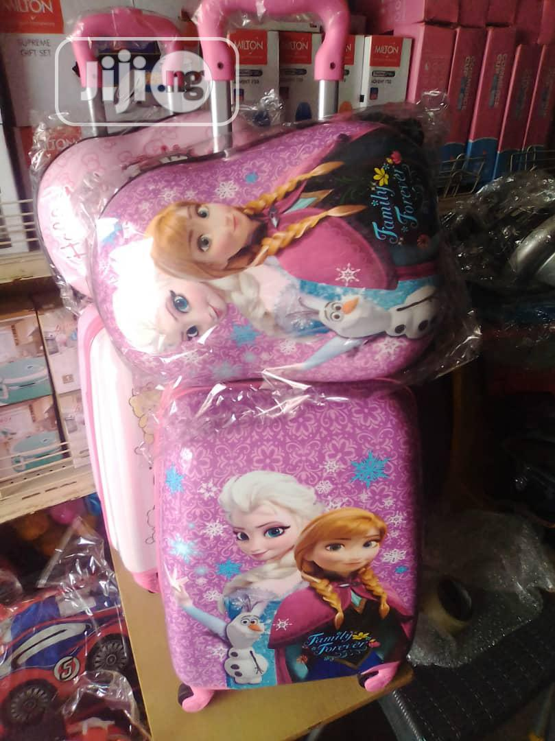 Foreign Quality Children School Trolley Boxes With Inner | Babies & Kids Accessories for sale in Alimosho, Lagos State, Nigeria
