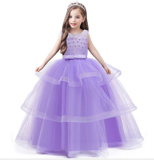 American Princess Gowns Girls Party Ball Gown