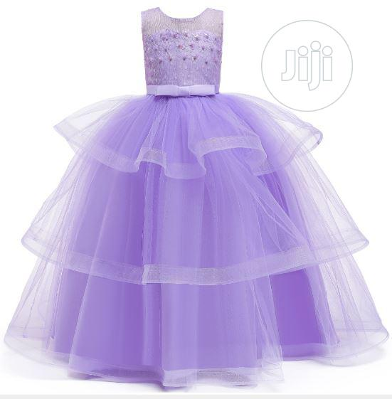 American Princess Gowns Girls Party Ball Gown | Children's Clothing for sale in Amuwo-Odofin, Lagos State, Nigeria