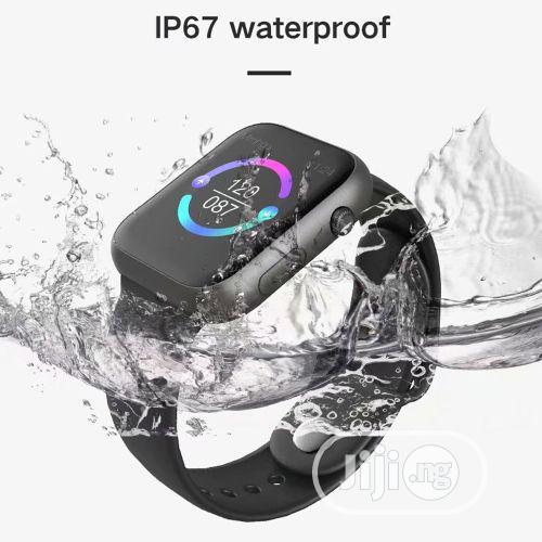 SX16 Smartwatch Heart Rate Monitor For Huawei Xiaomi White