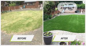 Original & Quality Durable Artificial Green Grass Carpet Lawn. | Garden for sale in Lagos State, Ikorodu