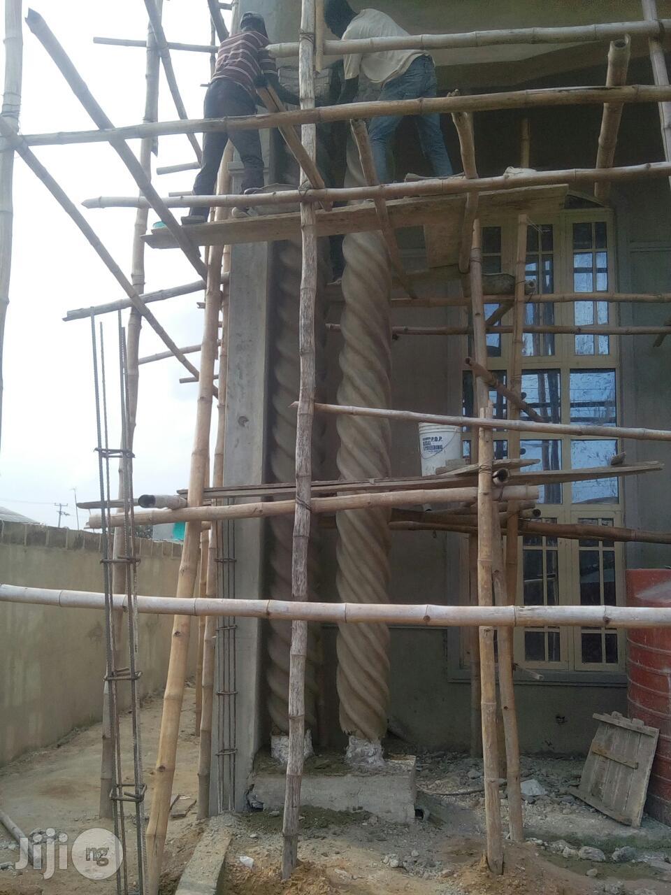 Window, Pillar, Parafet, Fence Cornice And Arc Design Work