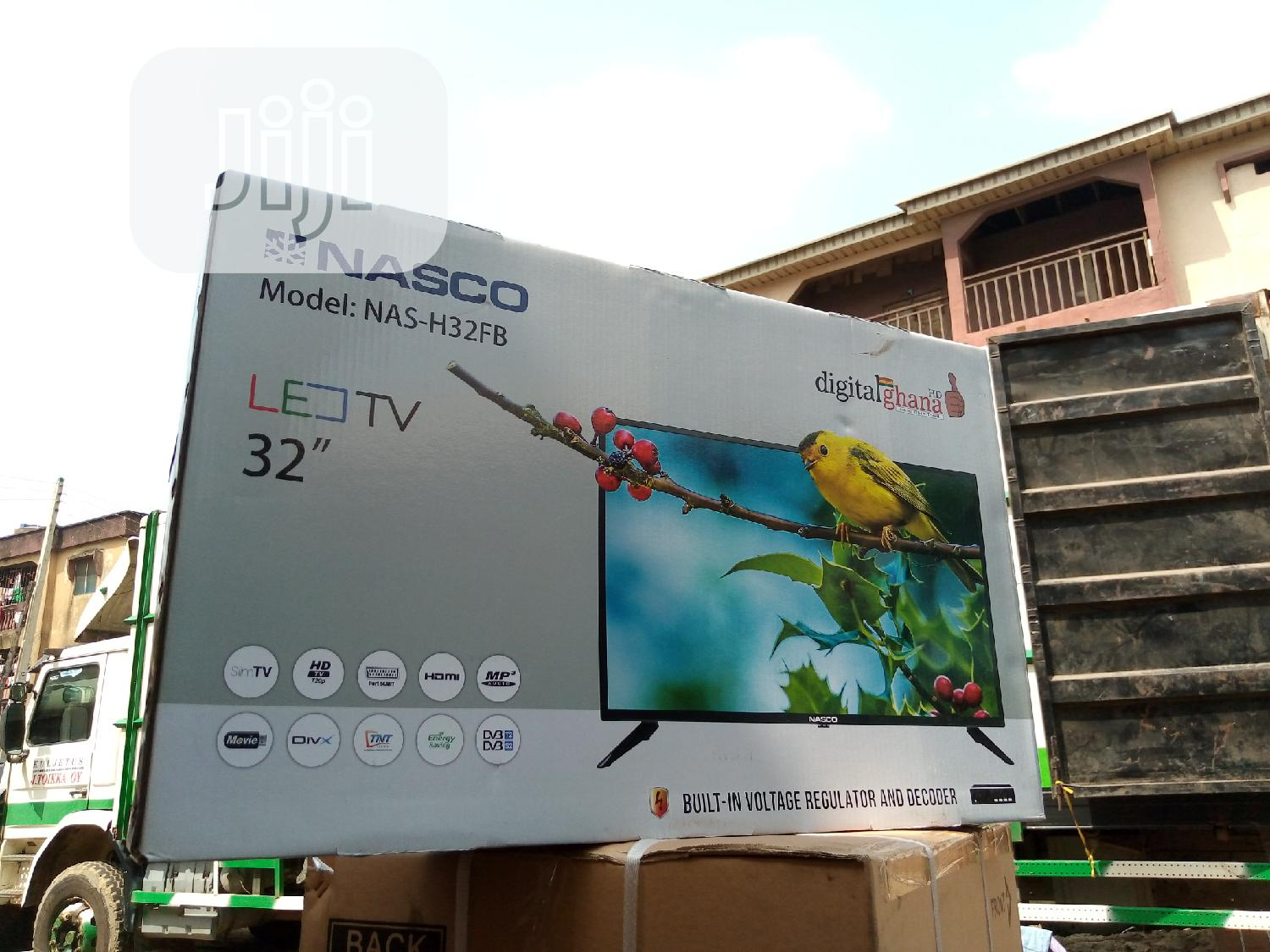 Brand New Nasco Led Full Hd 32inch Satellite TV | TV & DVD Equipment for sale in Ojo, Lagos State, Nigeria